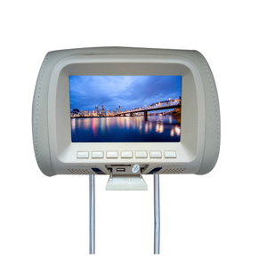 "7"" HD LED Headrest Player With Pillow"