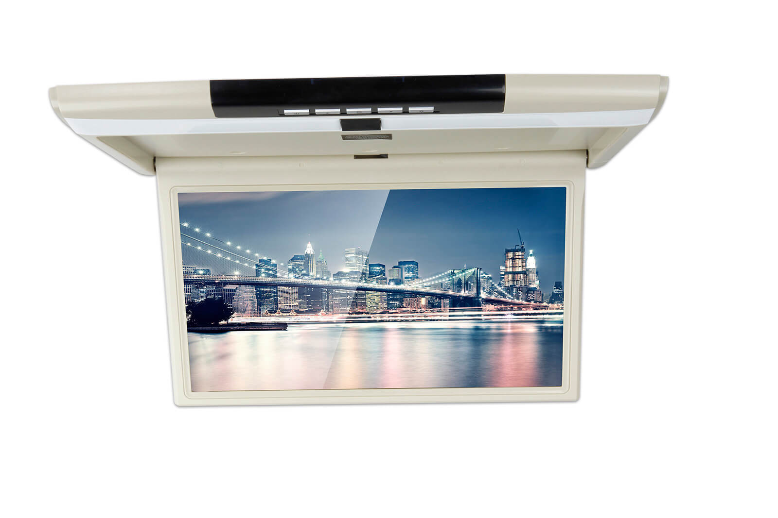 15.6 Inch Flip Down LED Monitor with HDMI Input